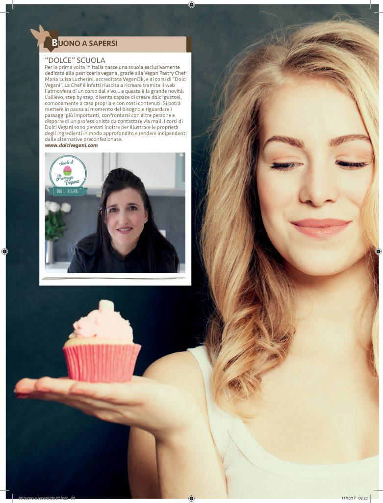 recensione intervista dolci vegani pasticceria vegana bio magazine maria luisa lucherini